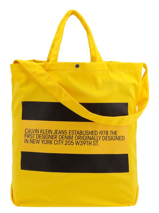 Calvin Klein Tech Fabric Shoulder Bag
