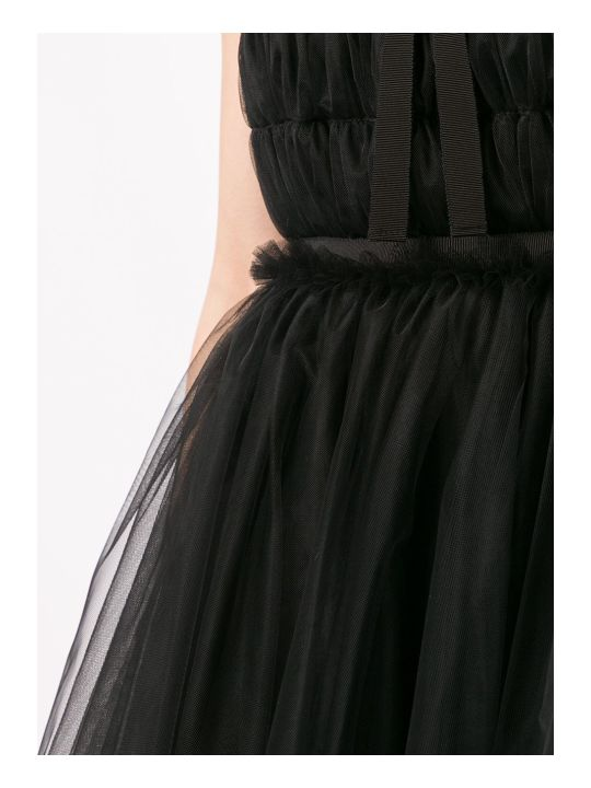 Brognano Bow Detail Tulle Dress