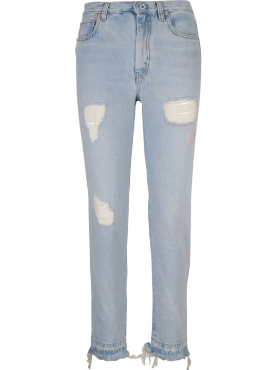 HERON PRESTON Distressed Jeans