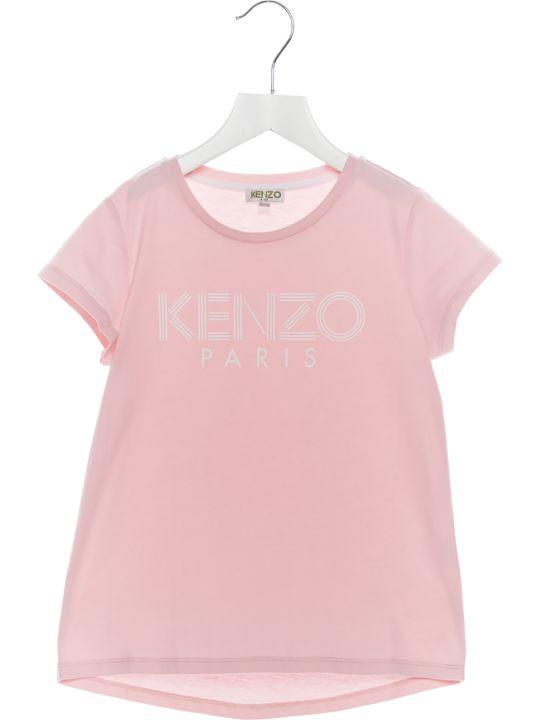 Kenzo Kids 'logo Sport Line' T-shirt