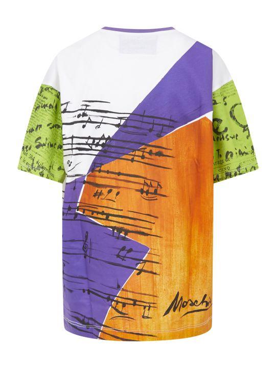 Moschino Art Print T-shirt