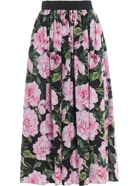 Dolce & Gabbana Dolce Gabbana Floral Maxi Skirt
