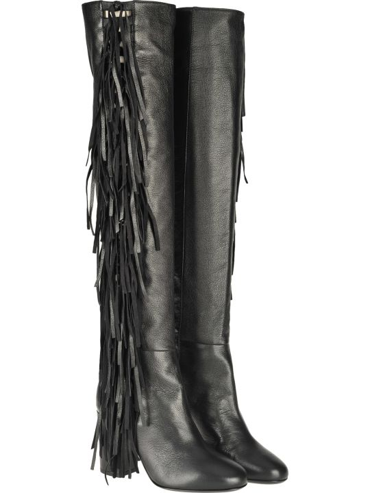 Laurence Dacade Laurence Dacade Sybelle Knee-lenght Fringe Boots