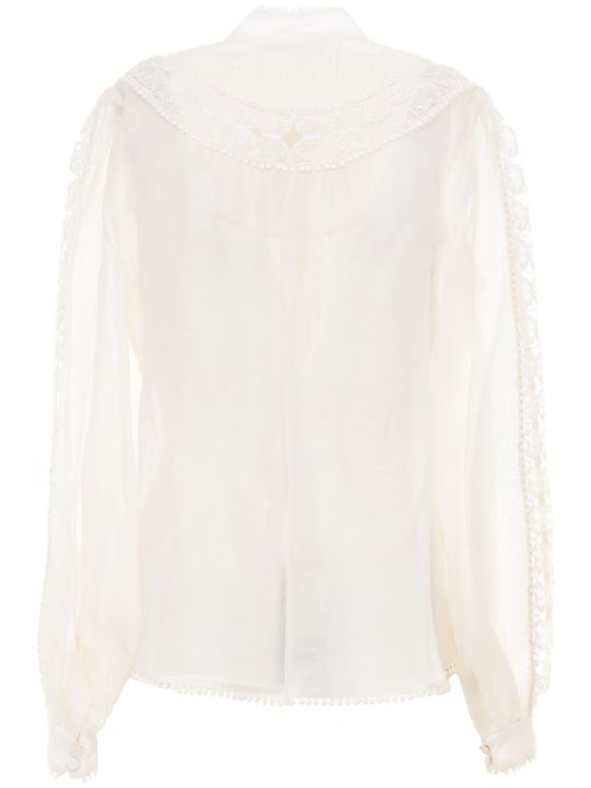Zimmermann Super Eight Butterfly Shirt