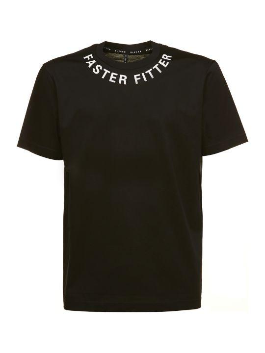 Black Barrett Printed T-shirt