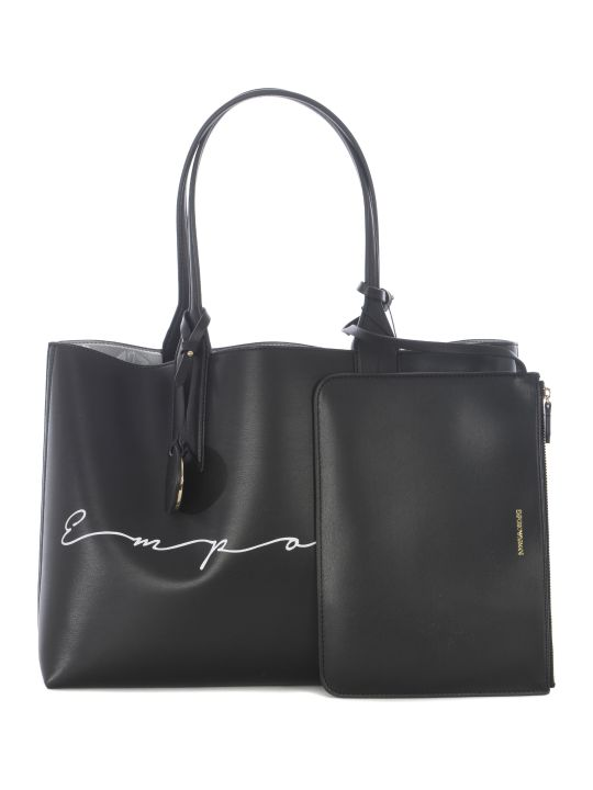 Emporio Armani Logo Shopper Bag