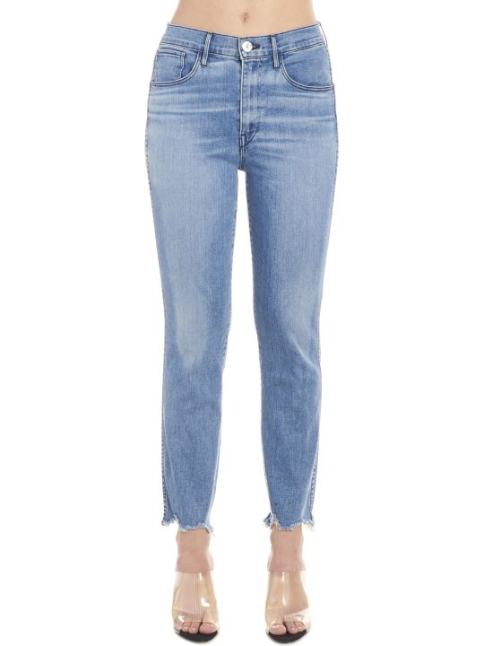 3x1 'straight Authentic Crop' Jeans