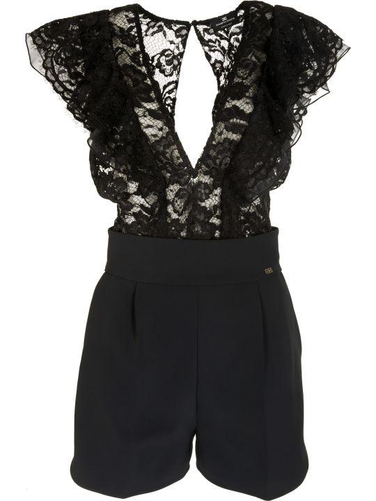 Elisabetta Franchi Celyn B. Elisabetta Franchi For Celyn B. Floral Lace Jumpsuit