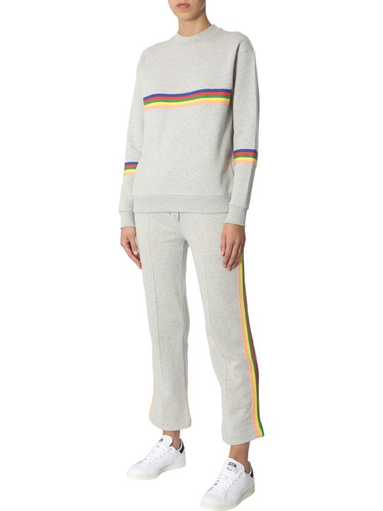 Etre Cecile Sweatshirt With Rainbow Bands