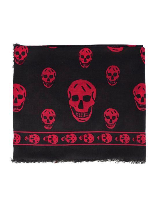 Alexander McQueen Scarf Skull 104x120