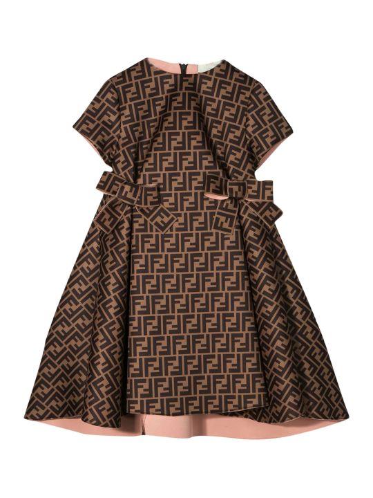 Fendi Kids Short Dress Ff