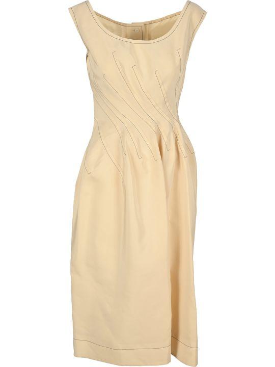 Marni Twisted-waist A-line Dress