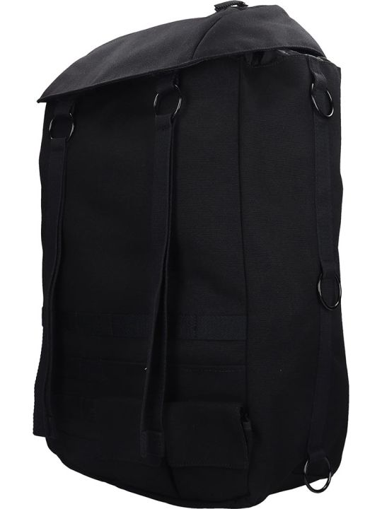 Eastpak by Raf simons Rs Topload L Lo Backpack In Black Canvas