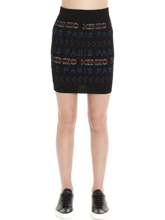 Kenzo 'kenzo Paris' Skirt