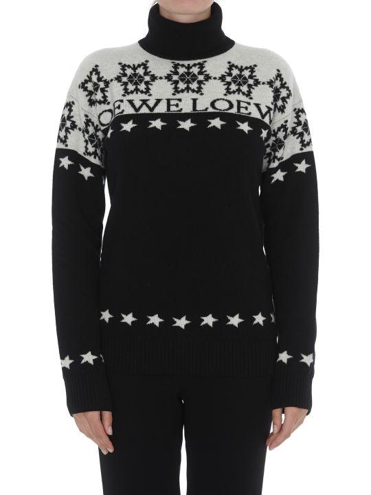 Loewe Snowflake Patterned Pullover