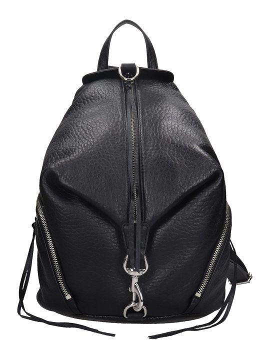 Rebecca Minkoff Julien Backpack In Black Leather