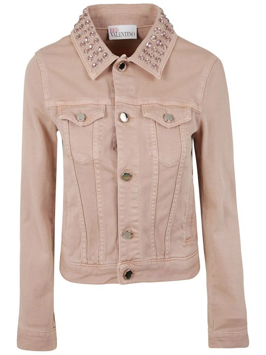 RED Valentino Studded Collar Jacket