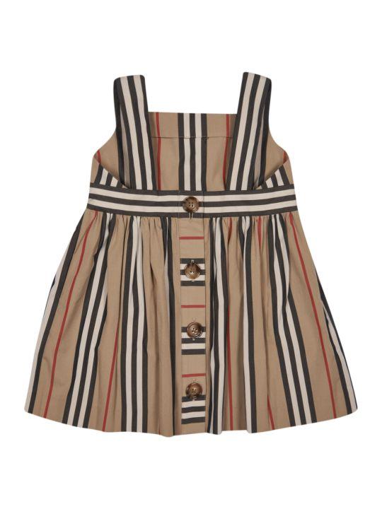Burberry Stripe Print Dress