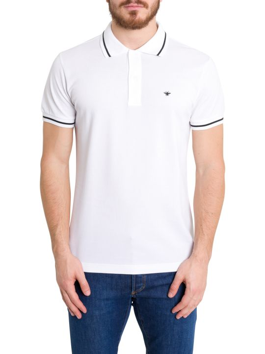 Dior Homme Ape Embroidered Polo Shirt