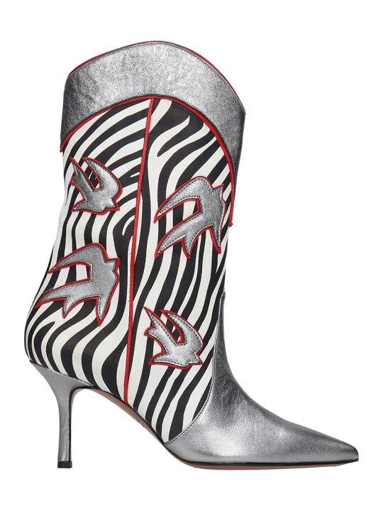 Marc Ellis Tex Silver Boots
