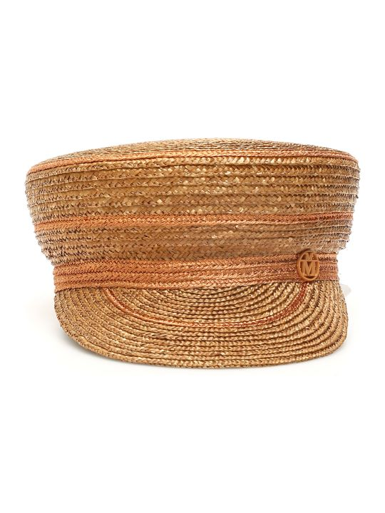 Maison Michel Abby Straw Sailor Hat