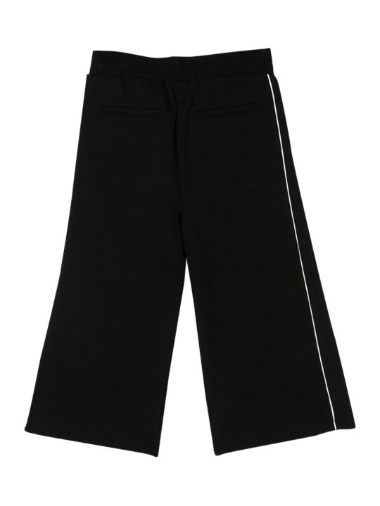 Givenchy Kids Wide Leg Trousers