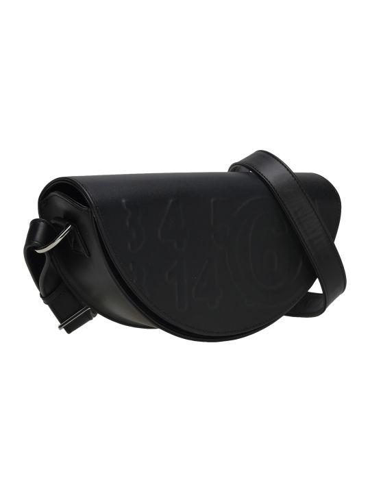 MM6 Maison Margiela Mm6 Embossed Logo Shoulder Bag
