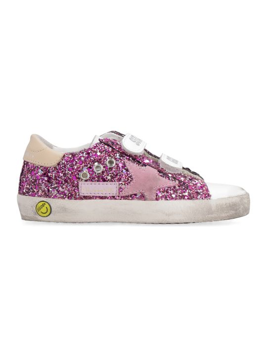 Golden Goose Old School Glitter Low-top Sneakers