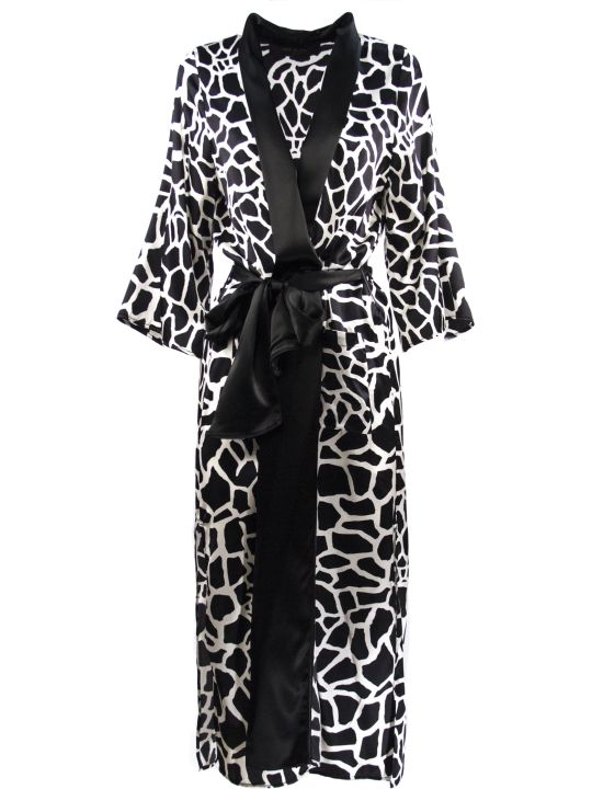 Federica Tosi Monochrome Silk-blend Patterned Dress