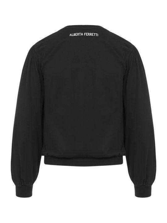 Alberta Ferretti Alberat Ferretti Love Me Starlight Sweater