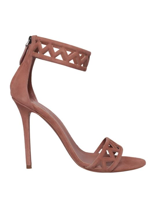 Alaia Suede Sandals