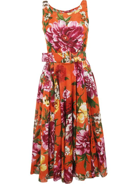 Samantha Sung Rose Print Dress