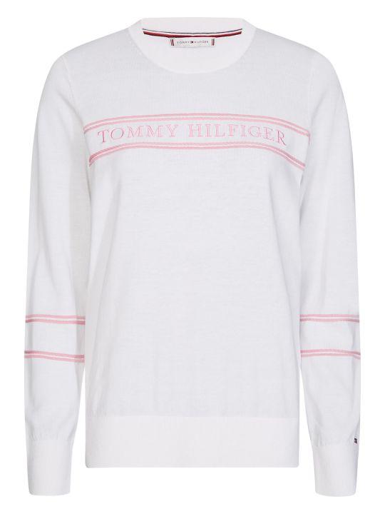 Tommy Hilfiger Tommy Hilfiger White Pullover