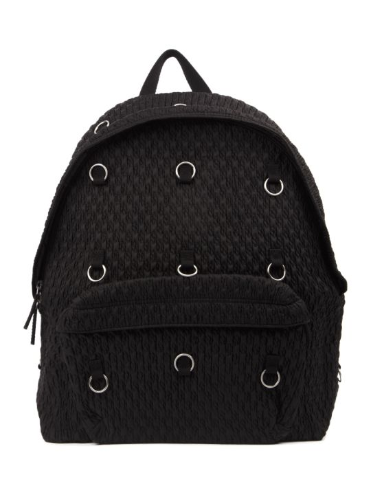 Eastpak Backpack In Matalassé Nylon With Rings Detail