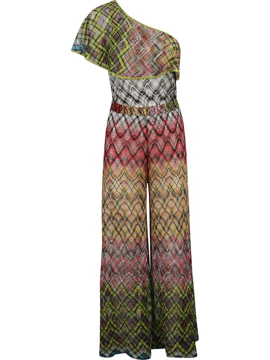 Missoni M Missoni Zigzag Pattern Print Dress