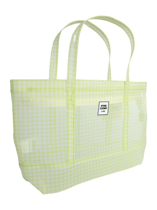 "Opening Ceremony Small ""gingham Chinatown Tote"" Bag"