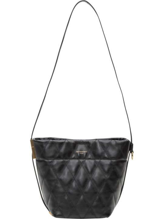 Givenchy Quilted Gv Mini Bucket