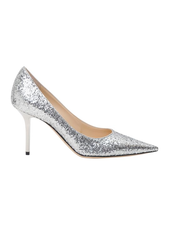 Jimmy Choo Love 85 Glitter Pumps