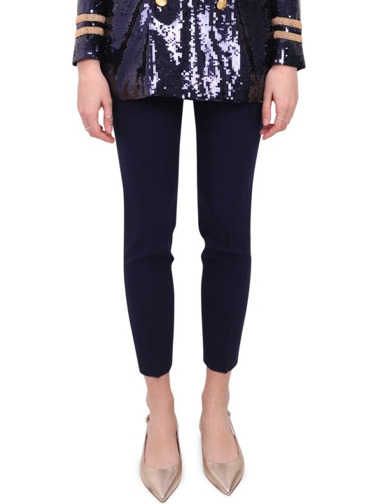 Ralph Lauren Navy Annie Trousers