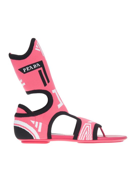 Prada High Sandal Show