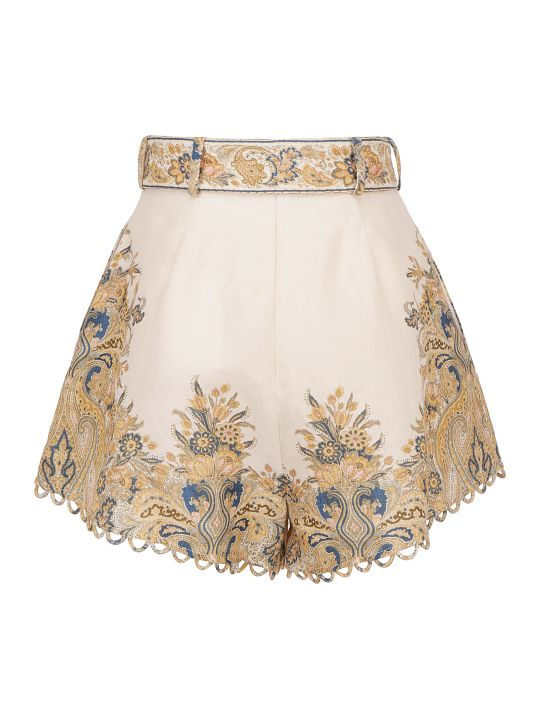 Zimmermann Freja Shorts