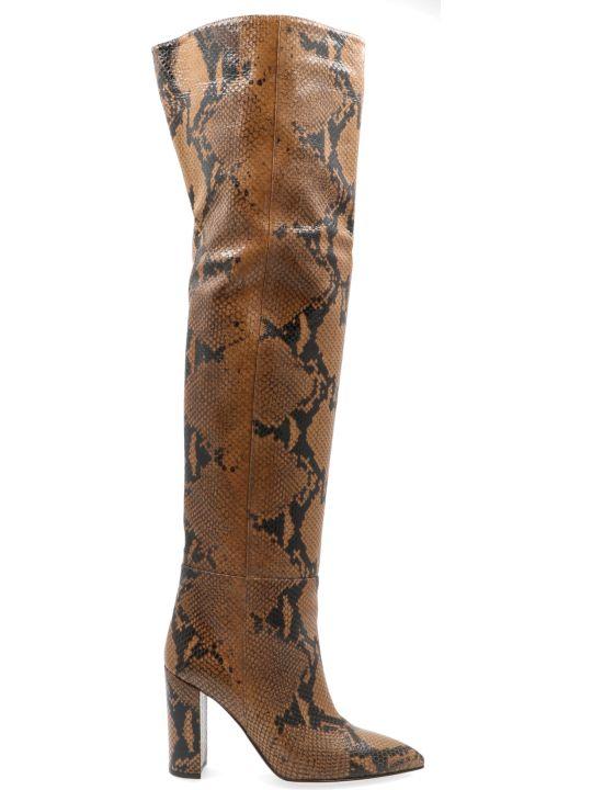 Paris Texas 'metallic Snake' Shoes