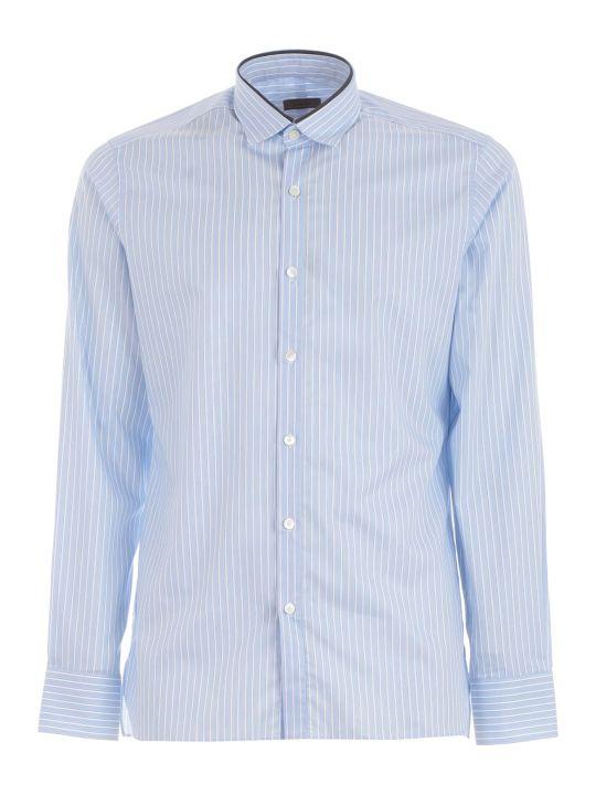 Lanvin Shirt Slimfit W/piping