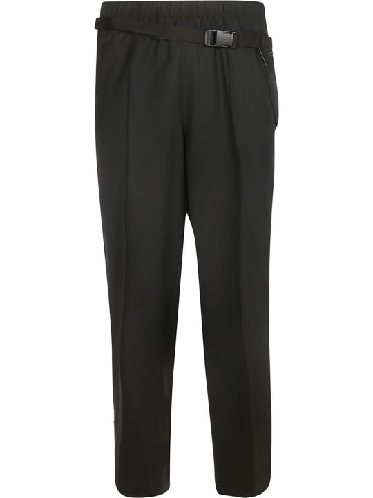 Maison Margiela Belted Straight Leg Trousers