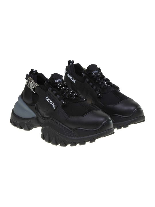 Ruco Line Rucoline Sneakers R-start 930 In Stretch And Leather Fabric