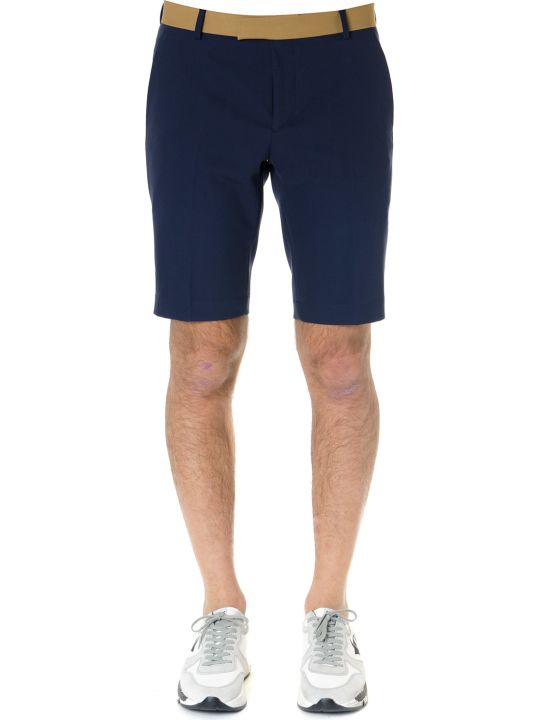 Calvin Klein Shorts In Tecno Gabardine Blue