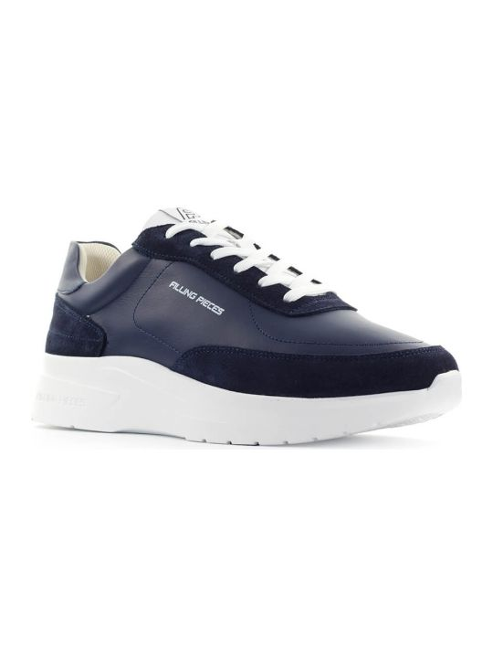 Filling Pieces Blue Moda Jet Runner Sneaker