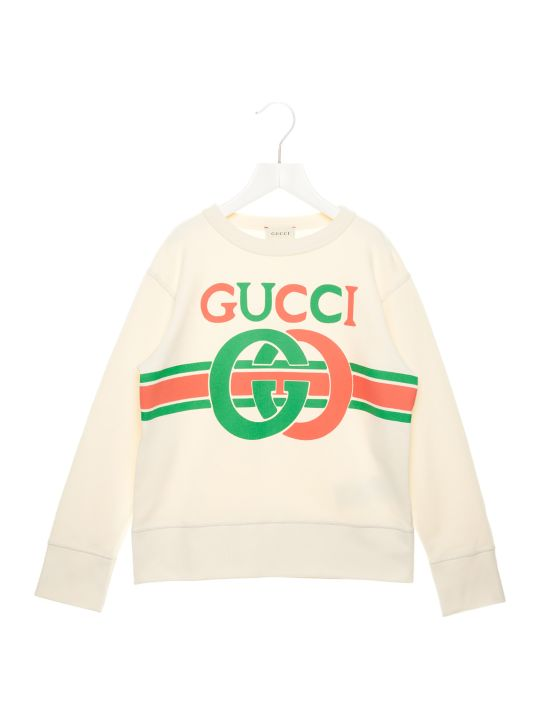 Gucci 'logo Interlock' Sweatshirt
