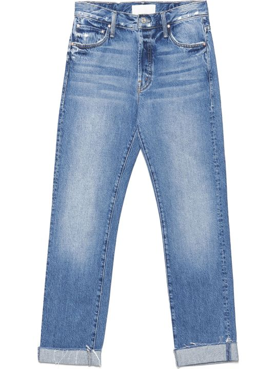 Mother 'the Scrapper Cuff' Jeans