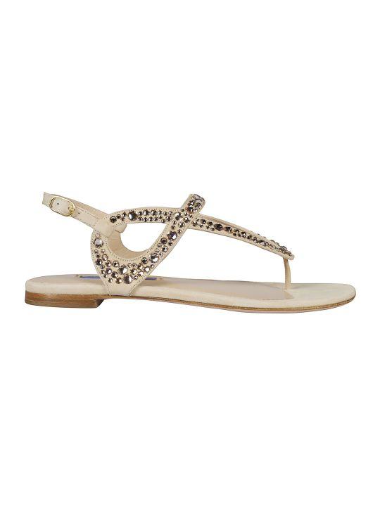 Stuart Weitzman Embellished Sandals